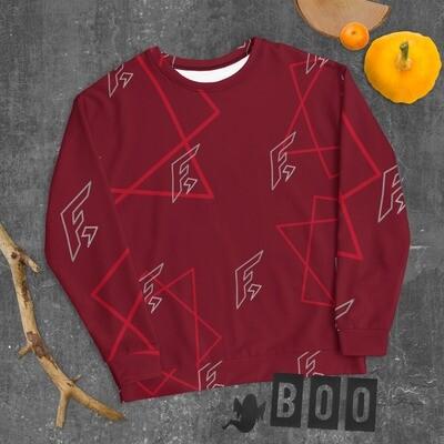 FoxaroLogo Unisex All Over Sweatshirt