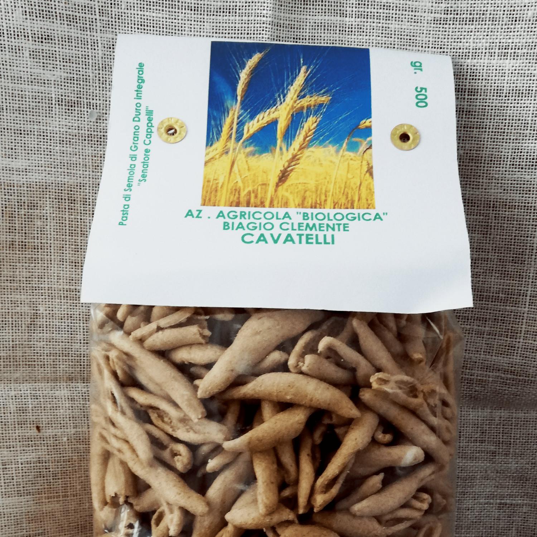 """Cavatelli di Grano duro Biologico varietà """"Senatore Cappelli"""""""