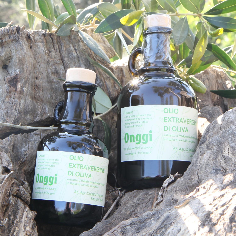 Olio extravergine di oliva varietà 100% Coratina 2020