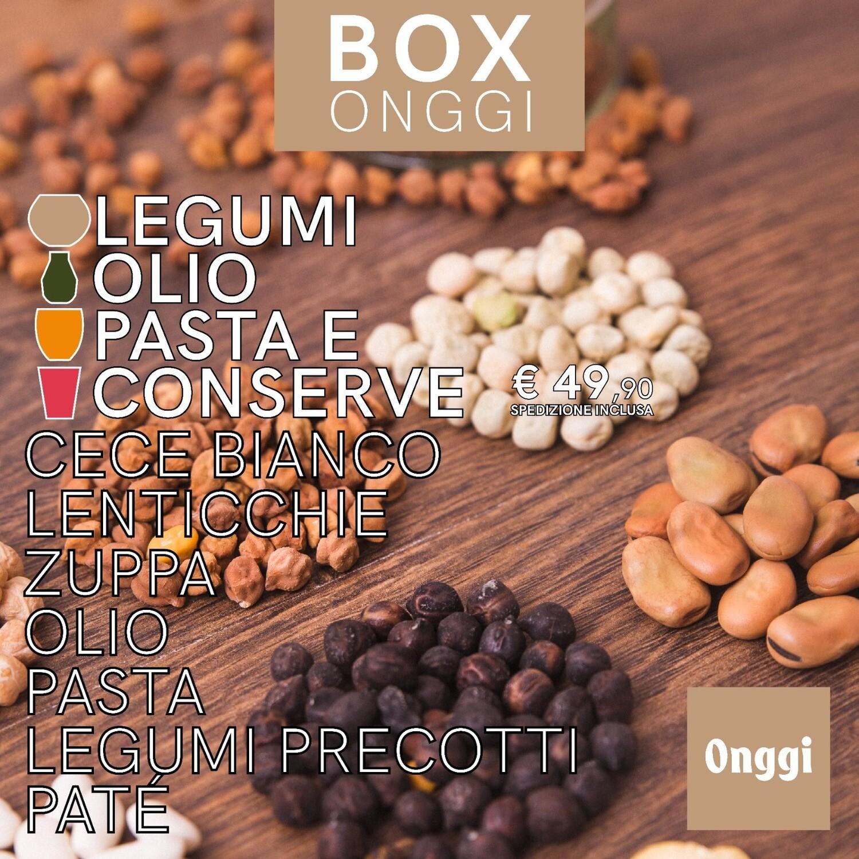 Box Onggi legumi olio pasta e conserve