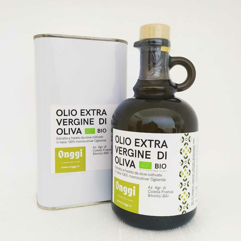 Olio extravergine di oliva varietà 100% Ogliarola 2020
