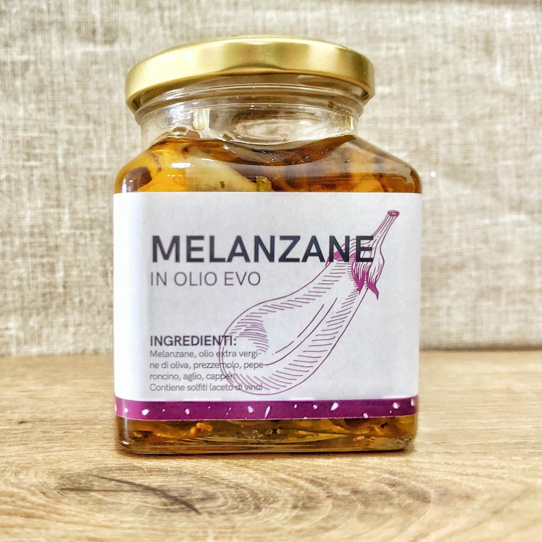 Melanzana in olio extra vergine di oliva