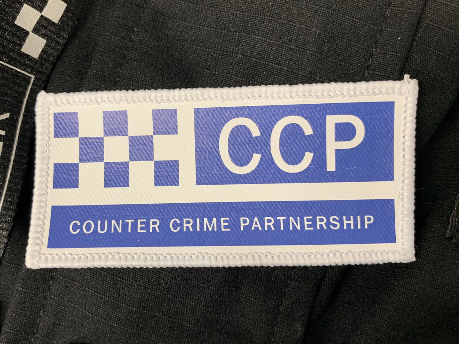 COUNTER CRIME PARTNERSHIP - Velcro Patch