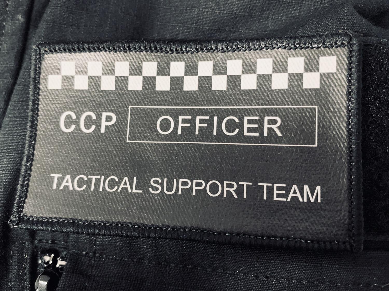 CCP: OFFICER - Velcro Patch