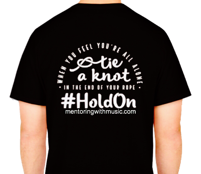 ORDER Hold On T-Shirt & Wear A Message of Hope