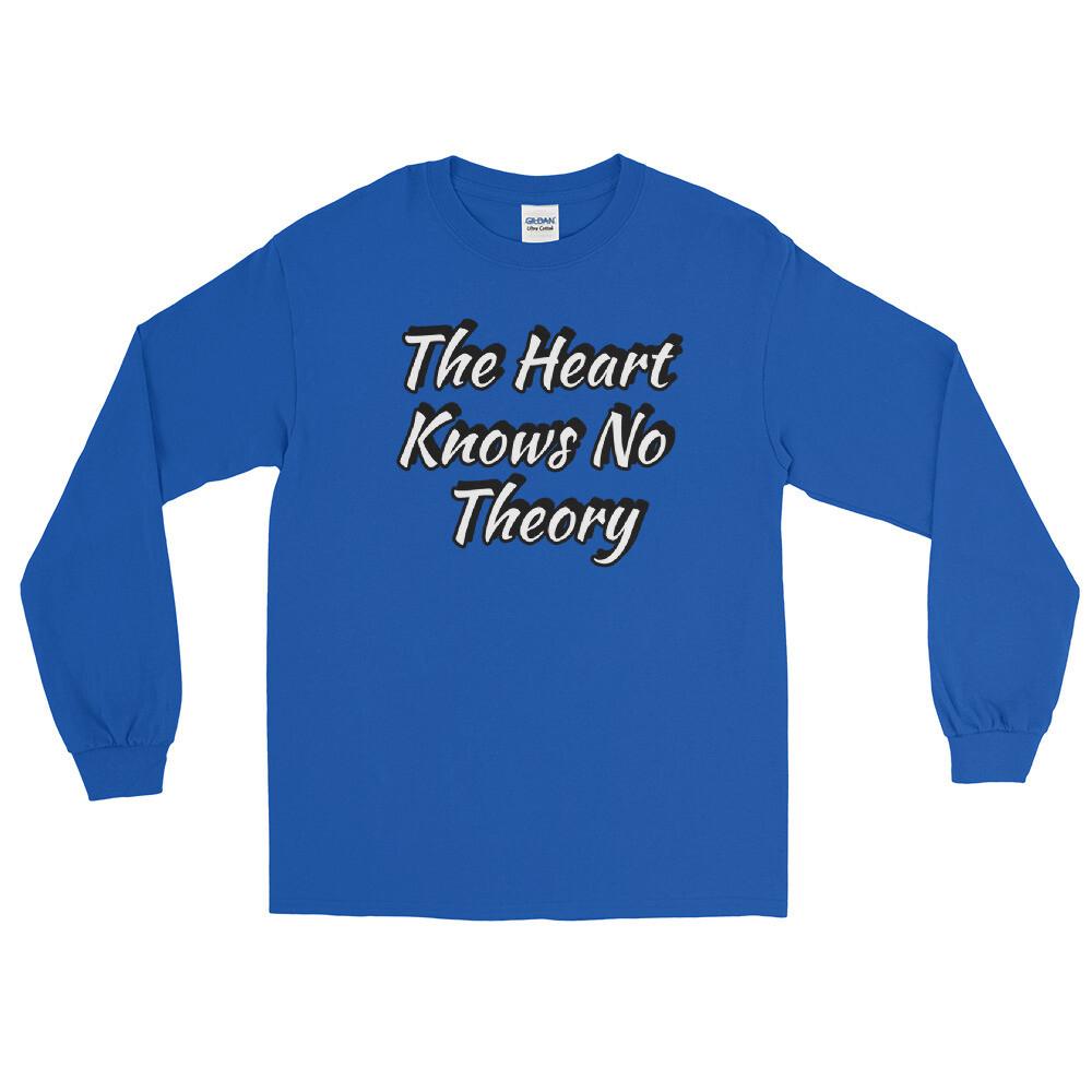 """No Theory"" Blue Long Sleeve Shirt"