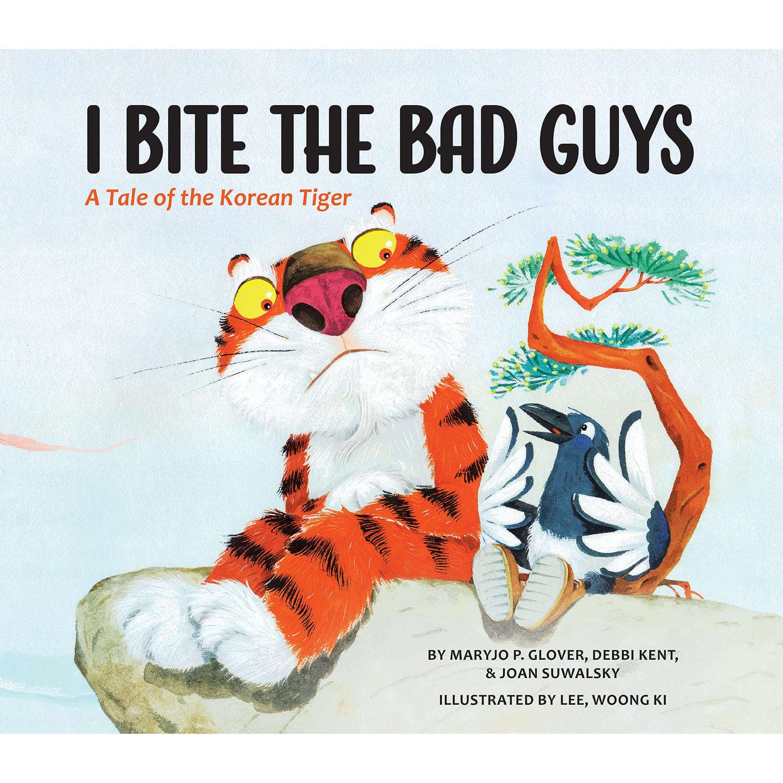 """I Bite the Bad Guys"" Hardcover Book 00000"