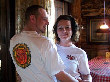 Green Bulldog T-Shirt