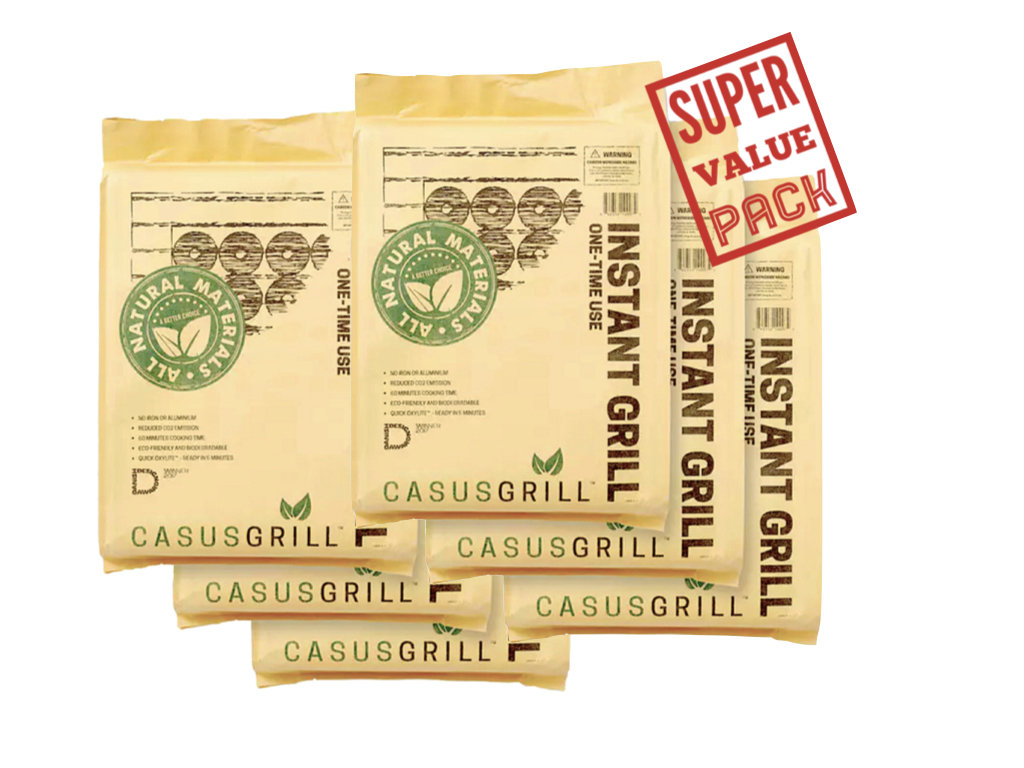 6 CasusGrills Super Value Pack (With Free Shipping)