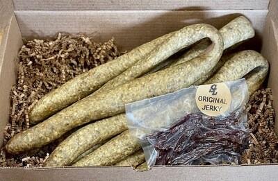 Sausage and Jerky Gift Box