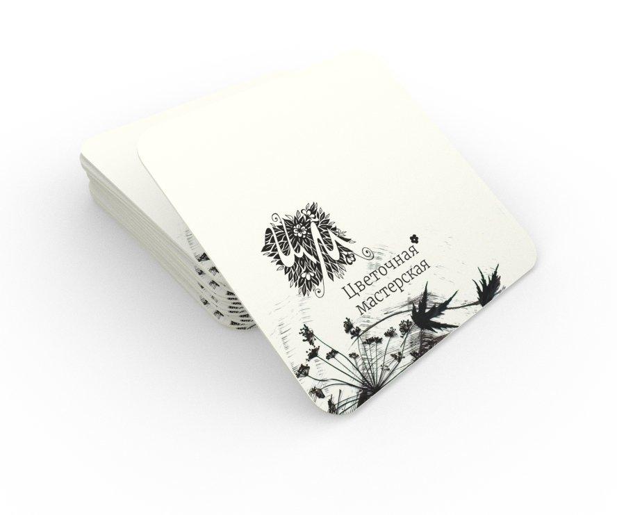 Бирдекели с логотипом, 24 шт., крафт-пакет