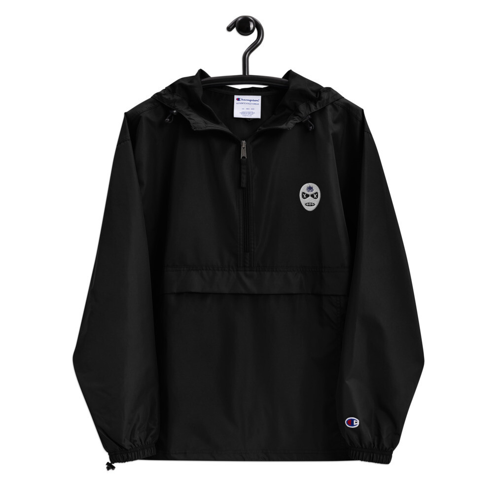 Embroidered Gos Champion Packable Jacket