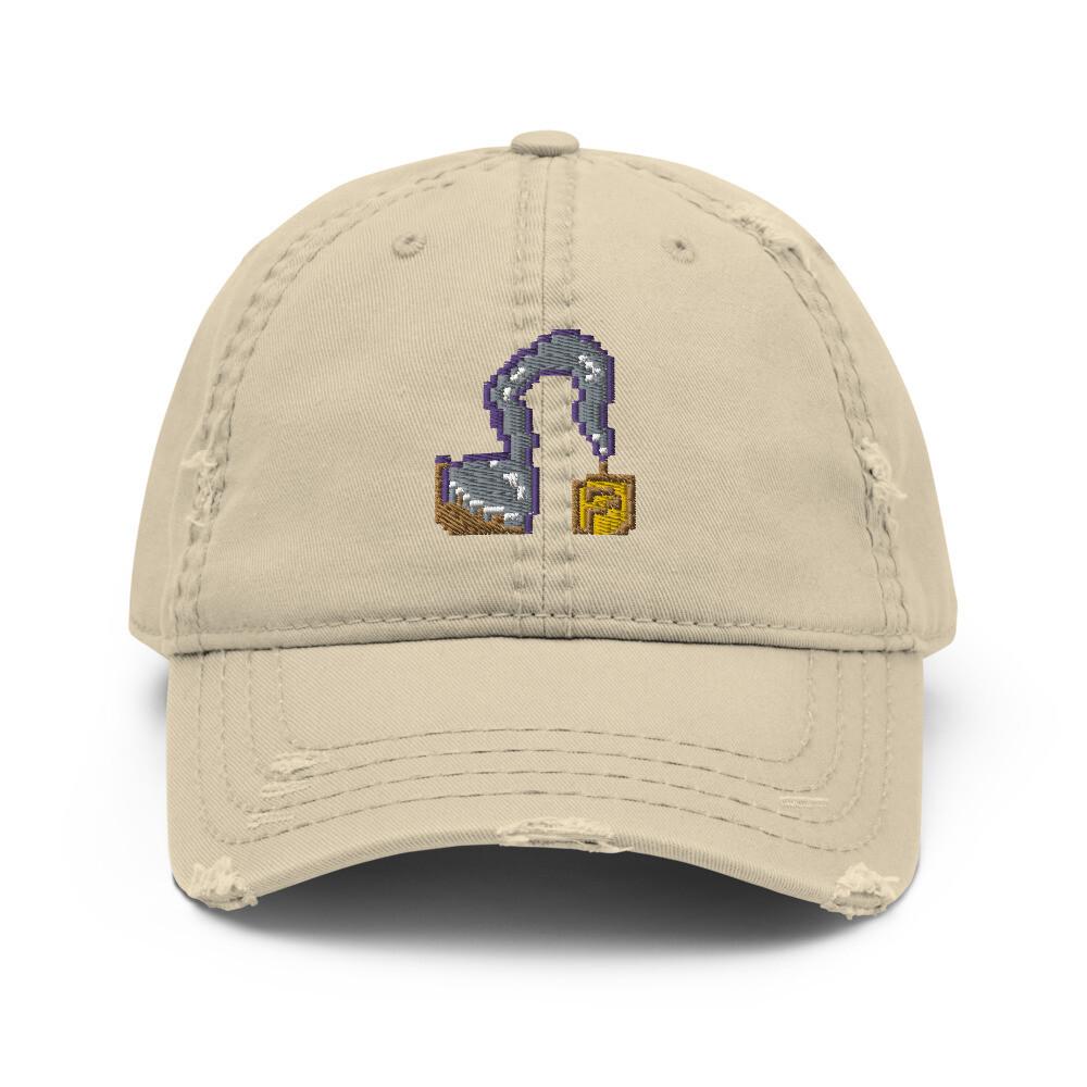 Diamond Hooks Distressed  Hat