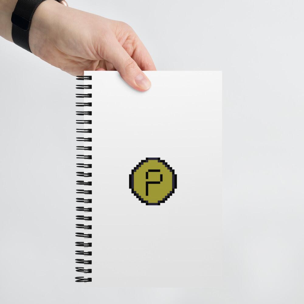 Pirate Spiral notebook