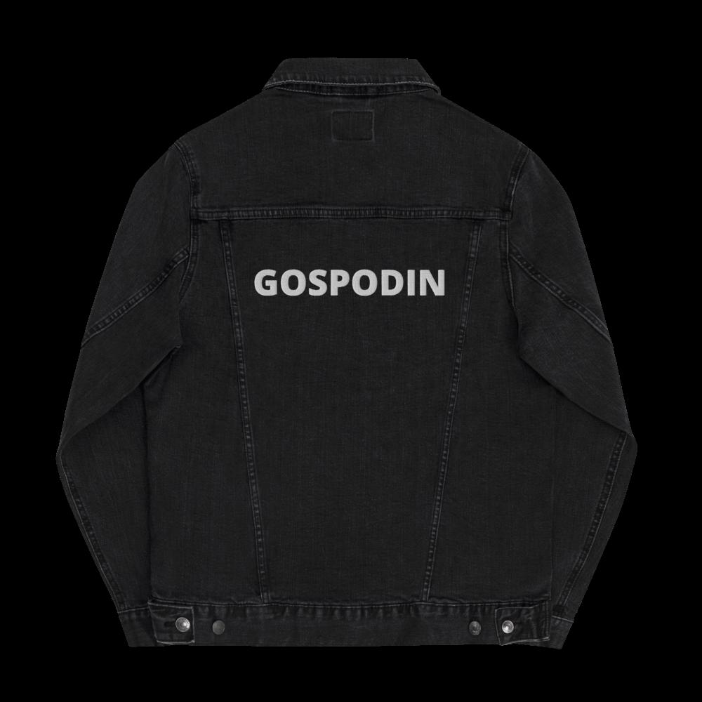 Unisex GOSPODIN denim jacket