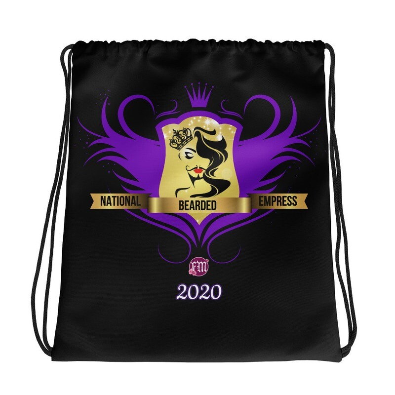 FatMarker & National Bearded Empress Drawstring bag