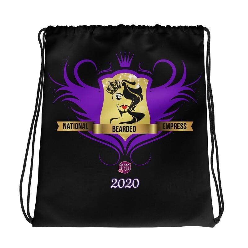 FatMarker & National Bearded Empress Drawstring bag