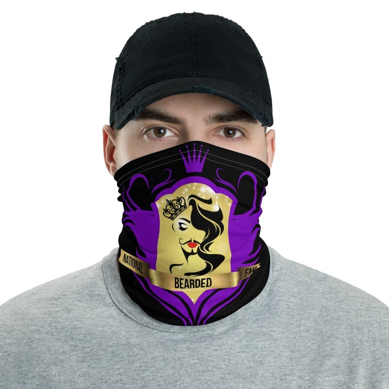 FatMarker & National Bearded Empress Neck Gaiter