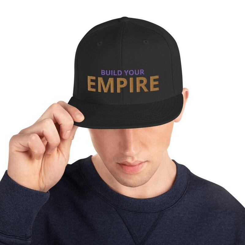 FatMarker & National Bearded Empress EMPIRE Snapback Hat