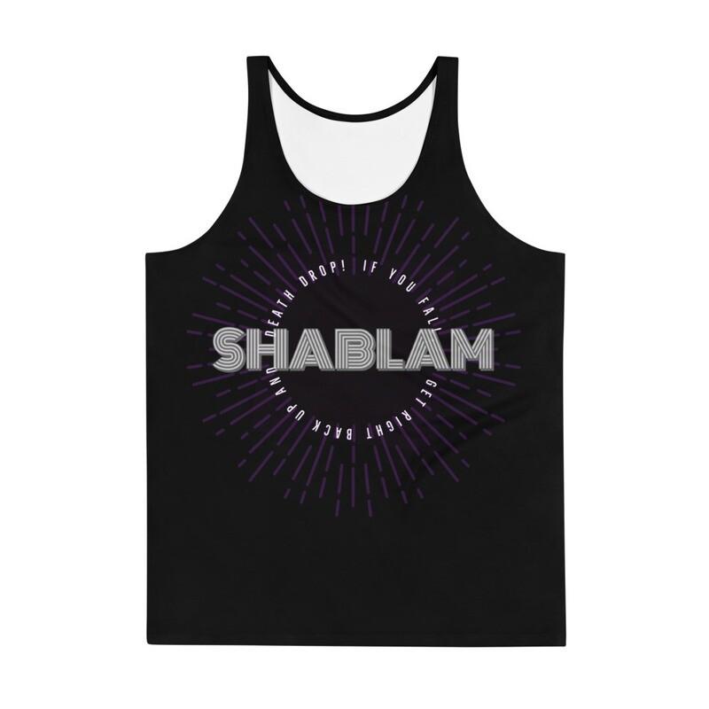 SHABLAM All-Over Print Tank