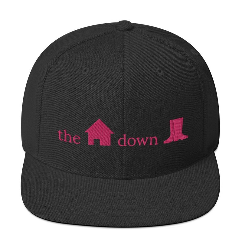 House Down Boots Snapback Hat