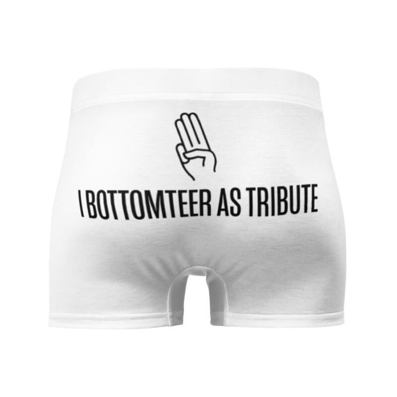 I Bottomteer As Tribute Boxer Briefs