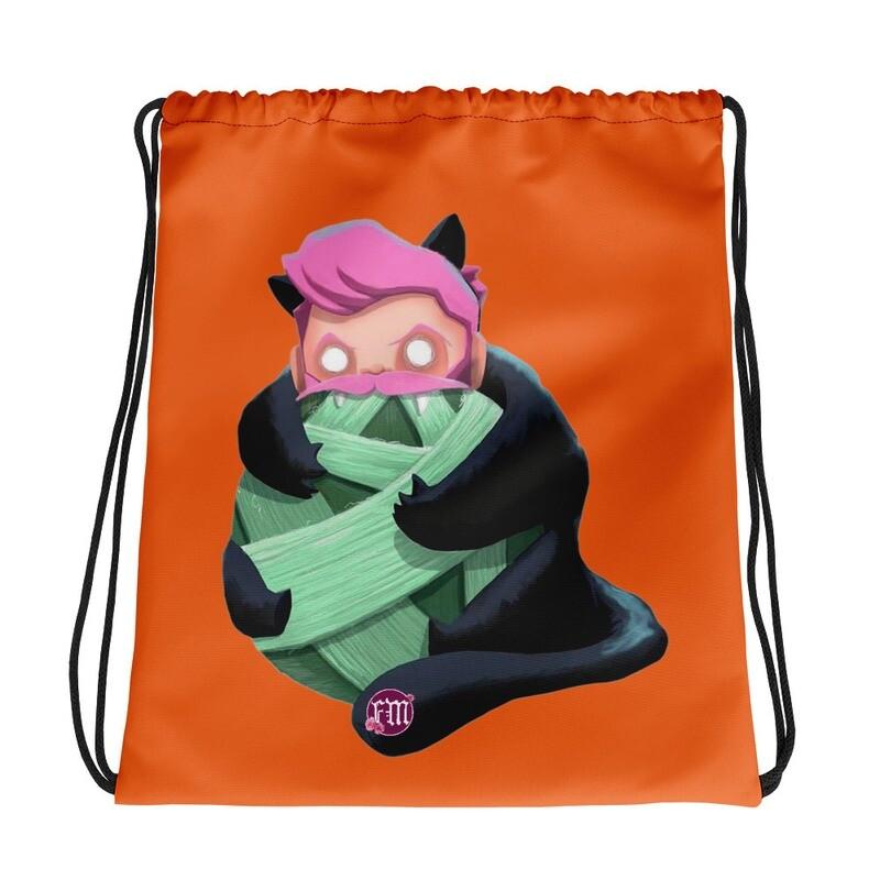 Catnip Drawstring Bag