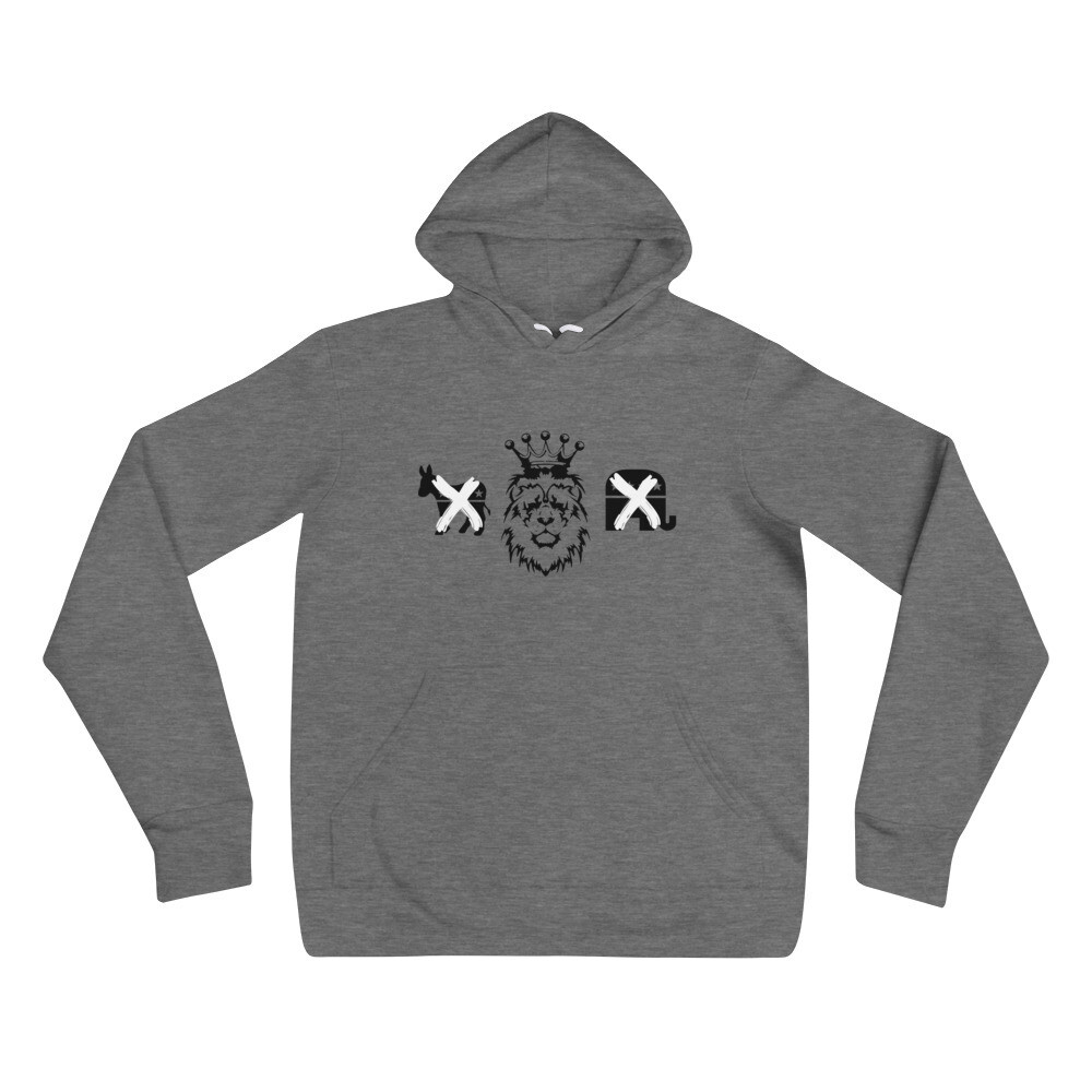 Kingdom Party Unisex hoodie (Deep Heather)