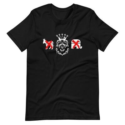 Kingdom Party Short-Sleeve Unisex T-Shirt (black)