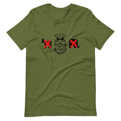 Kingdom Party Short-Sleeve Unisex T-Shirt (Olive)