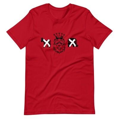 Kingdom Party Short-Sleeve Unisex T-Shirt (Red)
