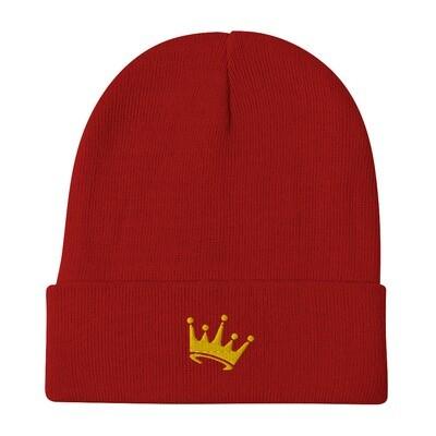 JG Crown Embroidered Beanie