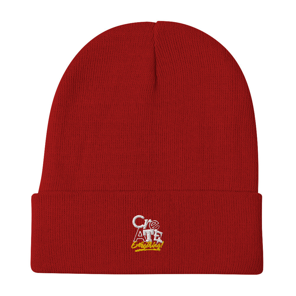 Create Everything Embroidered Beanie