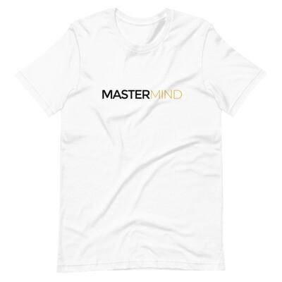 Mastermind Unisex Tee (White)