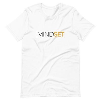 Mindset Unisex Tee (white)