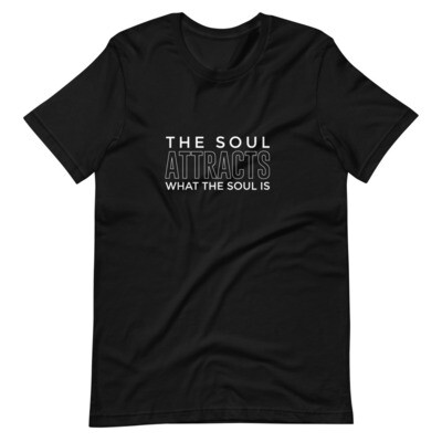 The Soul Attracts What The Soul Is Short-Sleeve Unisex T-Shirt
