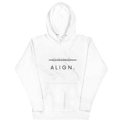 ALIGN Hoodie (white)