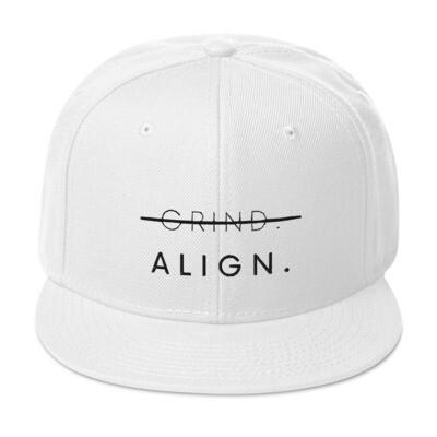 ALIGN Snapback Hat