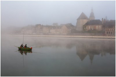 Dawn on the River Meuse, France