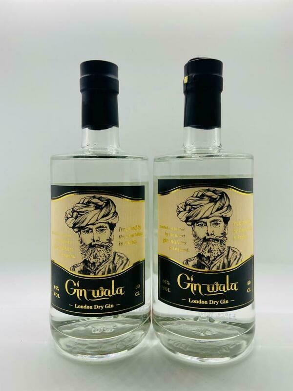 x2 Gin Wala - Chai Spiced London Dry Gin 45%
