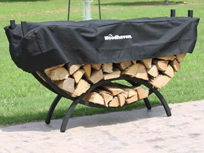 Docs 5' Crescent Firewood Rack