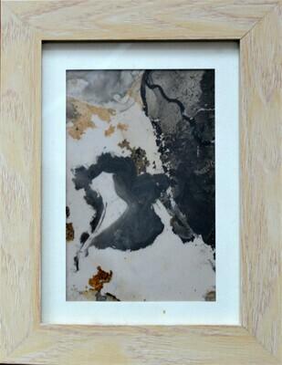 Stains framed