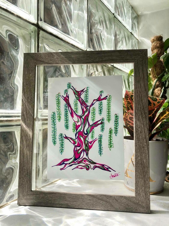 Trees (framed)