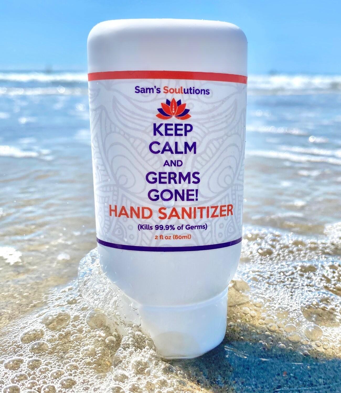Keep Calm Hand Sanitizer (Bundle of Three Tubes)