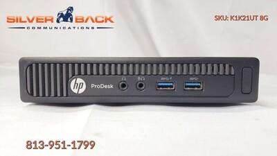 HP ProDesk 600 G1 UlSFF / Tiny / Micro Model K1K21UT#ABA i3-4160T / 8GB RAM