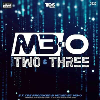 Years Two & Three (special edition)  album by M3-O  (2xCDs + Continuous Mix MP3s)