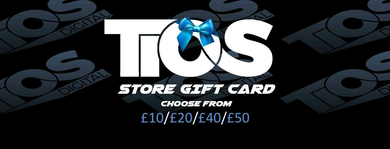 TiOS Store Gift Card