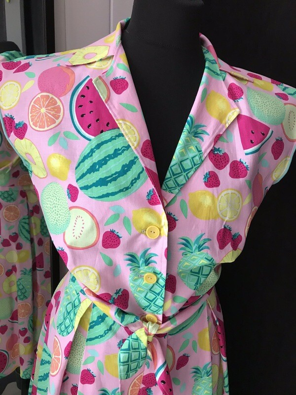 Blouse Fruits 🍉 🍓🍍🍊🍋 pink