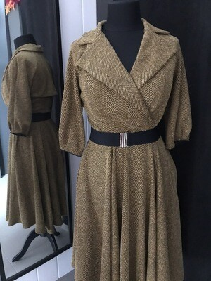 Trenchcoat Tweed Ocher