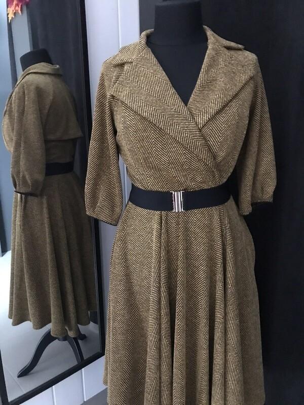 Trenchcoat Tweed Ocher